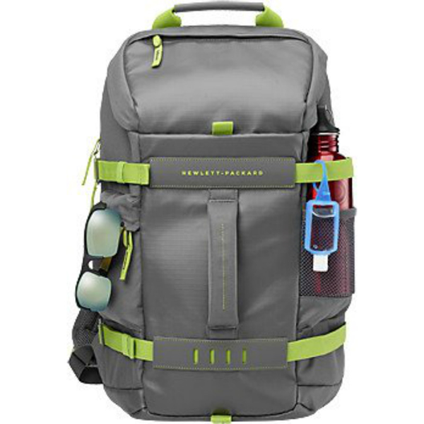 "Τσάντα πλάτης laptop HP Odyssey backpack 15,6"" grey/green"